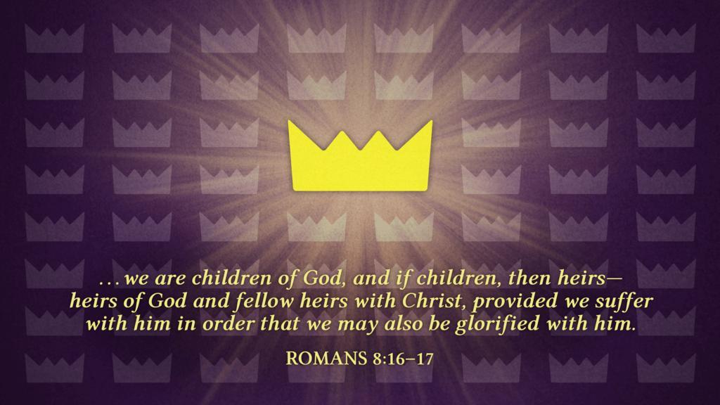 Romans 8:16–17 large preview