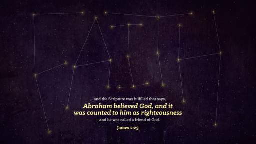 James 2:23 verse of the day image