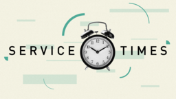 Service Times 16x9 PowerPoint Photoshop image