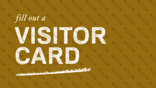 Visitor Card - Pencil