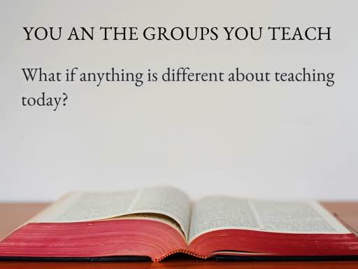 Teacher Training Part 4