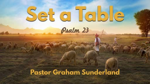 Set a Table - Psalm 23