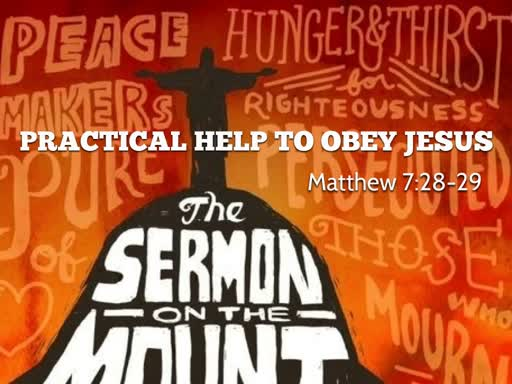 Practical Help to Obey Jesus
