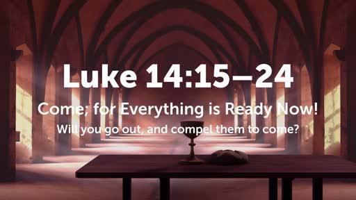 Luke 14:16–24