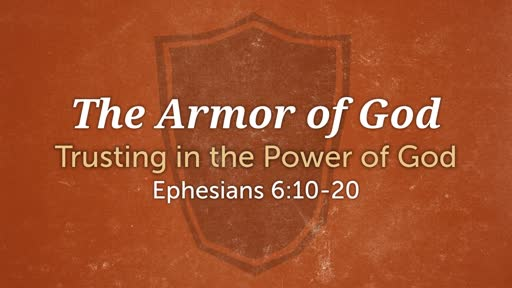The Armor of God:Being Devoted to Prayer