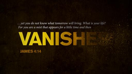 James 4:14 verse of the day image