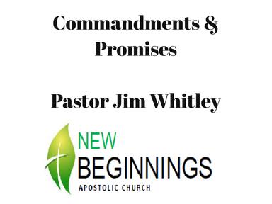 Commandments & Promises Wed 10/3