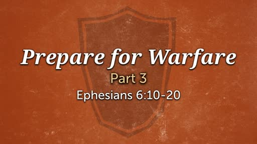 Ephesians 6:10-20 - Logan Wilson dramaticizes the Armor of God