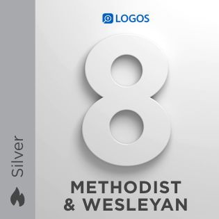 Logos 8 Methodist & Wesleyan Silver