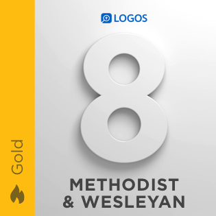 Logos 8 Methodist & Wesleyan Gold