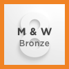 Logos 8 Methodist & Wesleyan Bronze