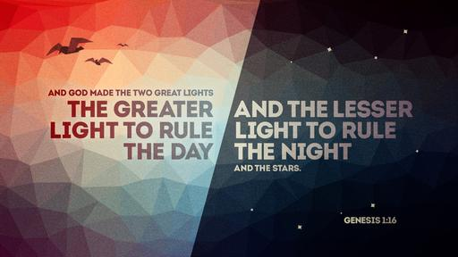 Genesis 1:16 verse of the day image