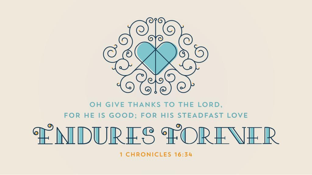 1 Chronicles 16:34 large preview
