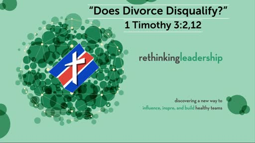 """""""Does Divorce Disqualify?"""" 