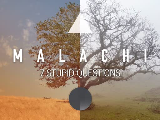 Sunday Service seven stupid questions 10/8/18