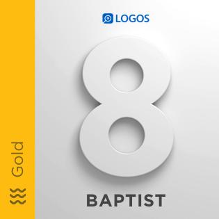 Logos 8 Baptist Gold