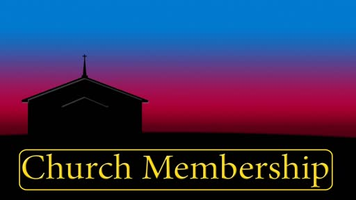 Biblical Basis for Membership