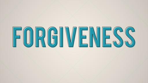 Forgiven First