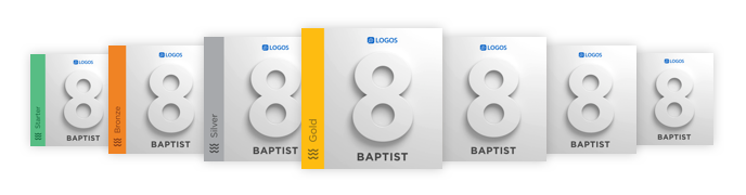 Logos Baptist base packages