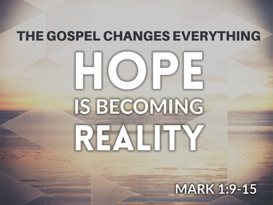 Hope is Becoming Reality