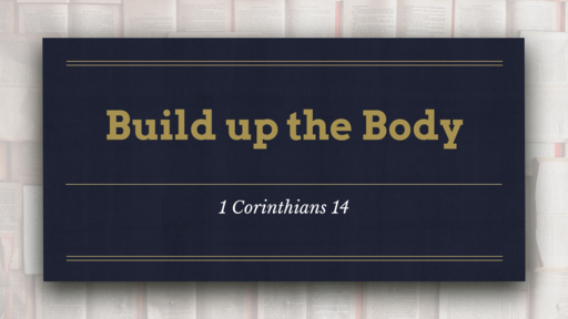 Build up the Body