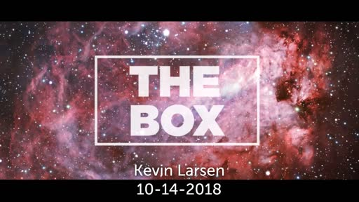 Kevin's message 10-14-18