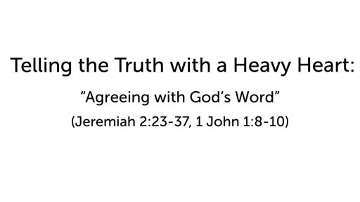 Agreeing with God's Word