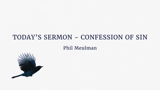 Confession of sin
