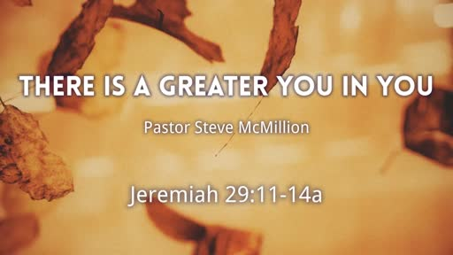 There is a Greater You in You