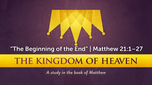 """""""The Beginning of the End"""" 