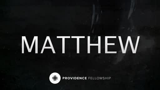 October 21 - Matthew