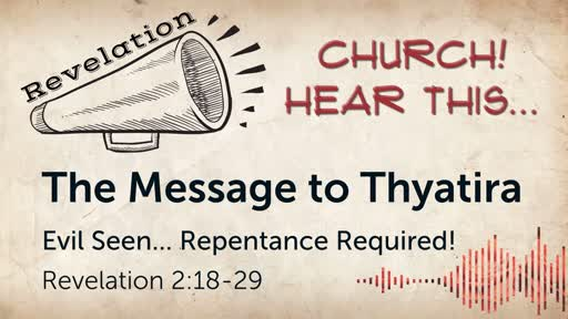 The Message to Thyatira