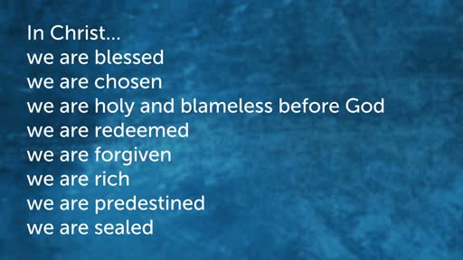Ephesians: Who is God?