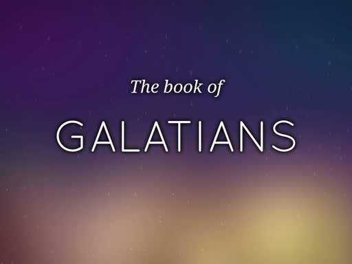 "Galatians 6 ""If a man be overtaken in any trespass"""