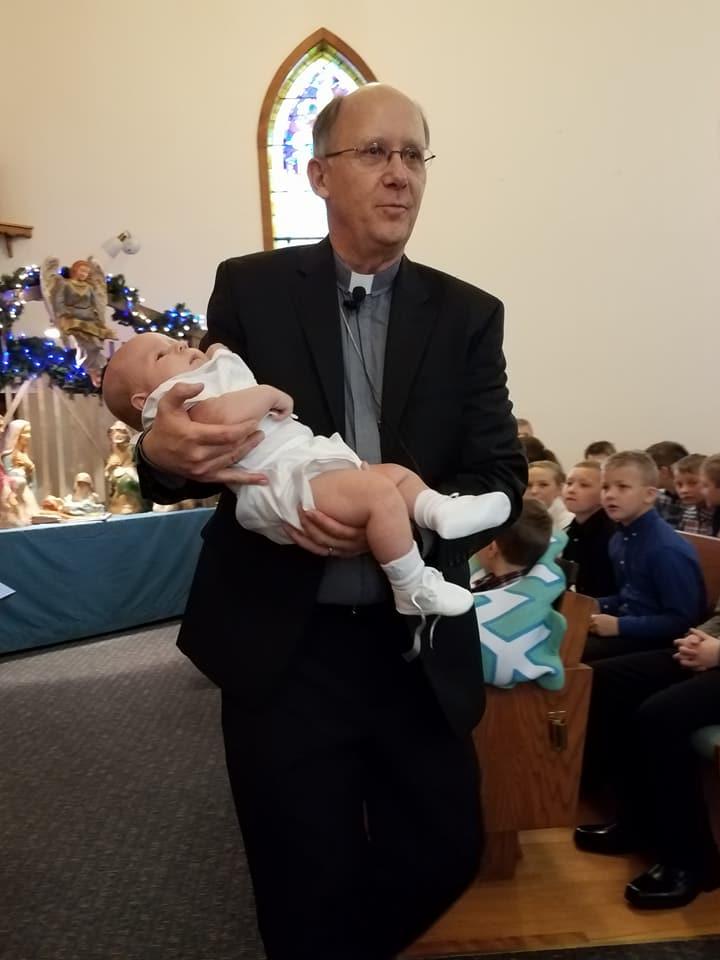Pastor Baptism