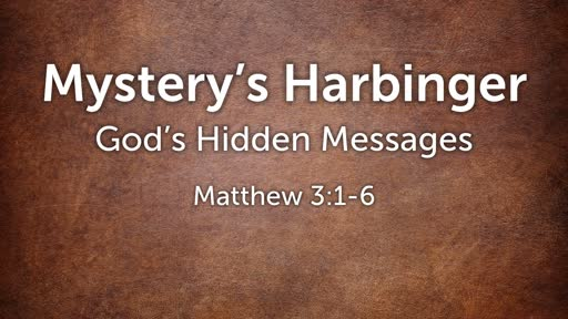 Mystery's Harbinger