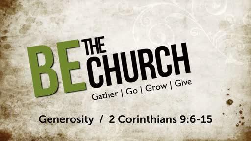 Gather Go Grow Give