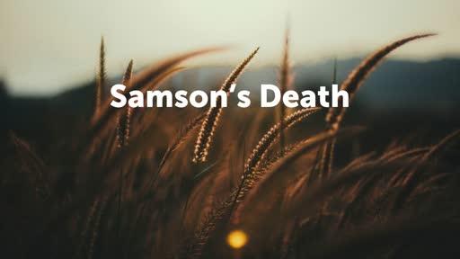 Samson's Death