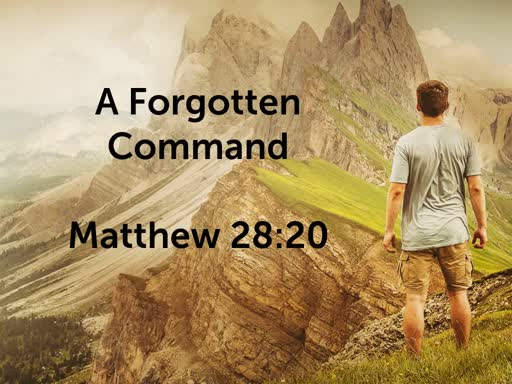 A Forgotten Command
