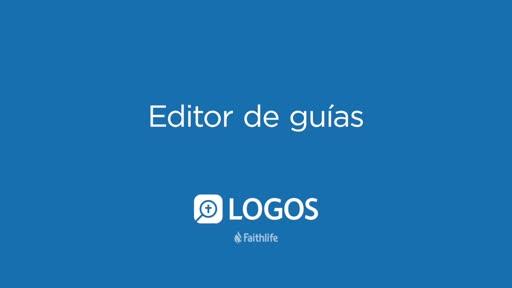 Editor De Guías