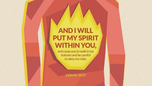 Ezekiel 36:27 verse of the day image