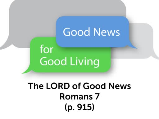 Good News for Good Living
