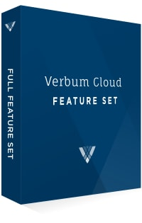 Verbum Cloud Feature Set