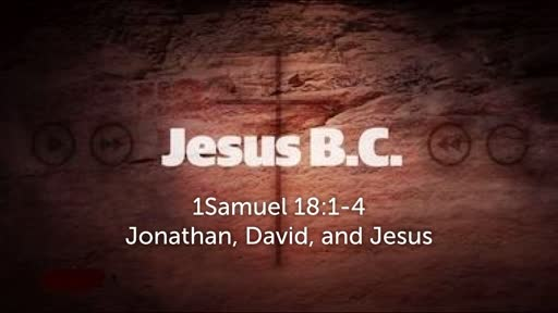 Jonatha, David and the Incarnation of  Jesus