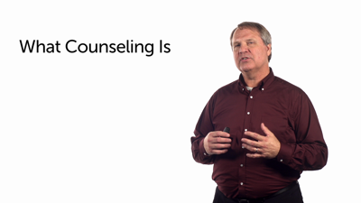 What Counseling Is