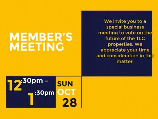 Members Meeting 10 28 18