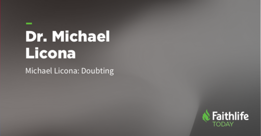 What Dr. Michael Licona Says to Christians Who Doubt