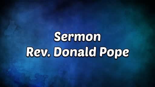 10-28-18 PM Sermon - Part 1