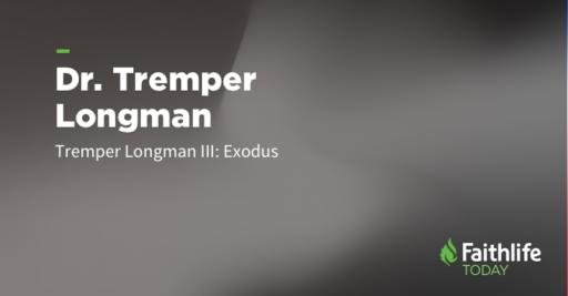 Tremper Longman III Discusses Teaching Exodus