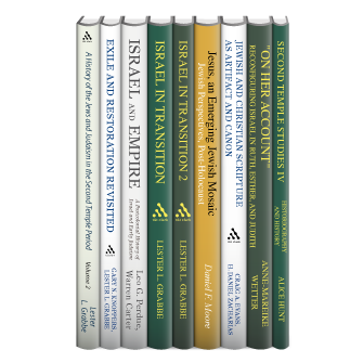T&T Clark Jewish Backgrounds Collection (9 vols.)